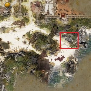 The secret passage is on the beach, close to the location where you have met Migo - The Imprisoned Elf | Act I - Chapter II - Fort Joy - Divinity: Original Sin II Game Guide