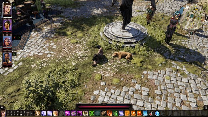Hes trying to panhandle using his sick dog - A Men And His Dog | Reapers Coast - Chapter IV - Reapers Coast - Divinity: Original Sin II Game Guide