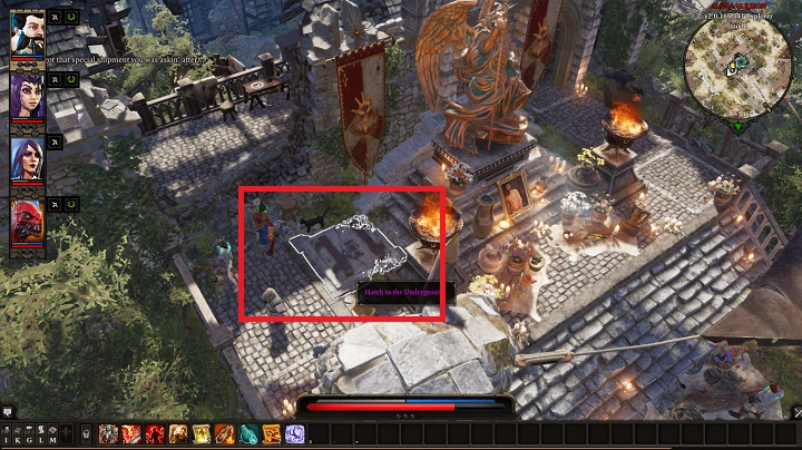 After you leave Caverns, go to the Shrine of Seven mentioned by Withermoore - Withermoores Soul Jar | Act I - Chapter II - Fort Joy - Divinity: Original Sin II Game Guide