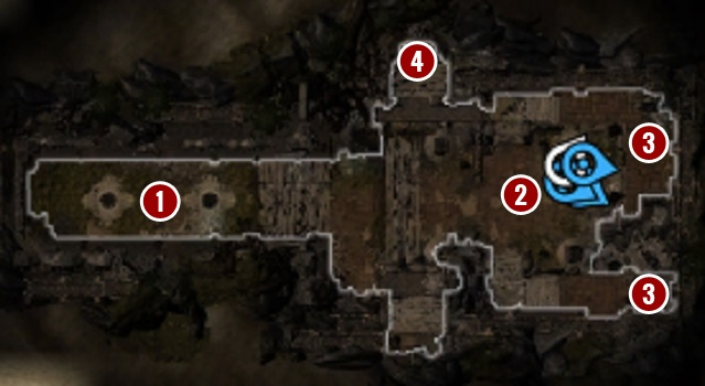 There are two poison traps in the way[1] - Withermoores Soul Jar | Act I - Chapter II - Fort Joy - Divinity: Original Sin II Game Guide