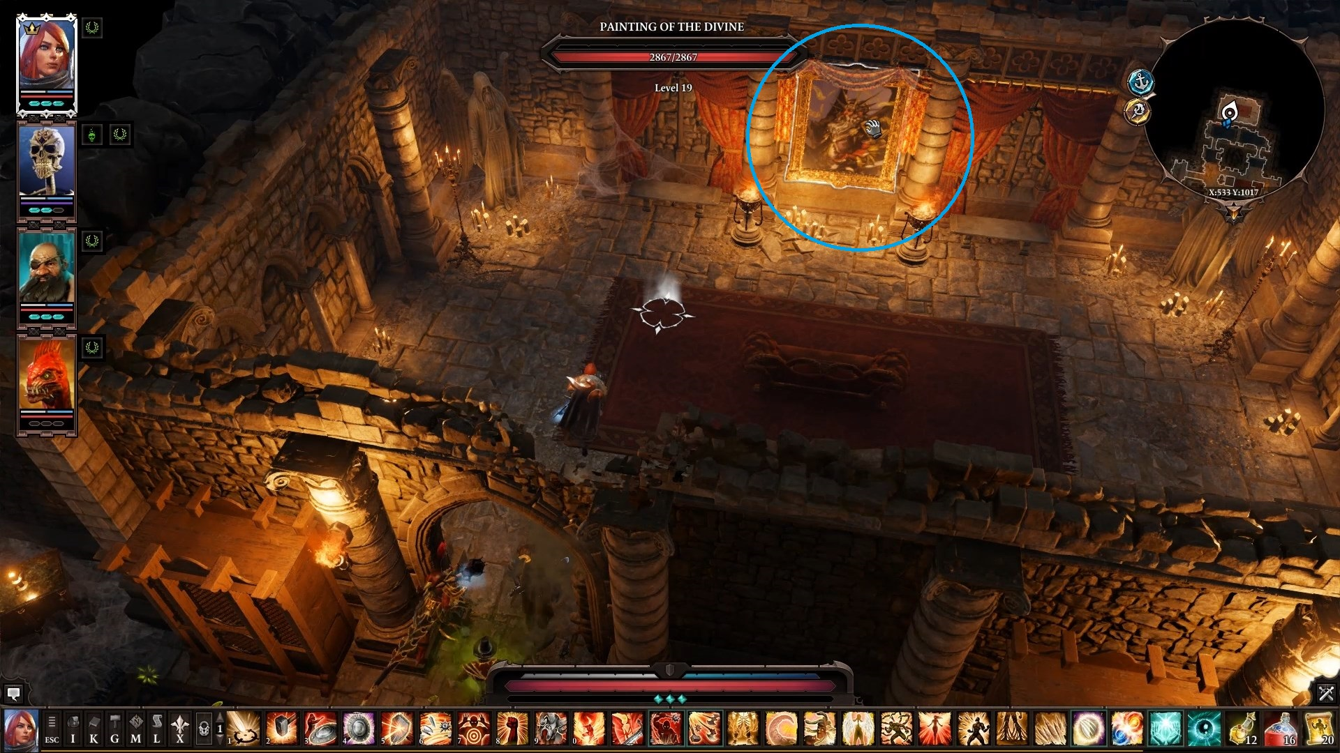 The location of the first item. - Arx Puzzles | Puzzles and secrets - Puzzles and secrets - Divinity: Original Sin II Game Guide