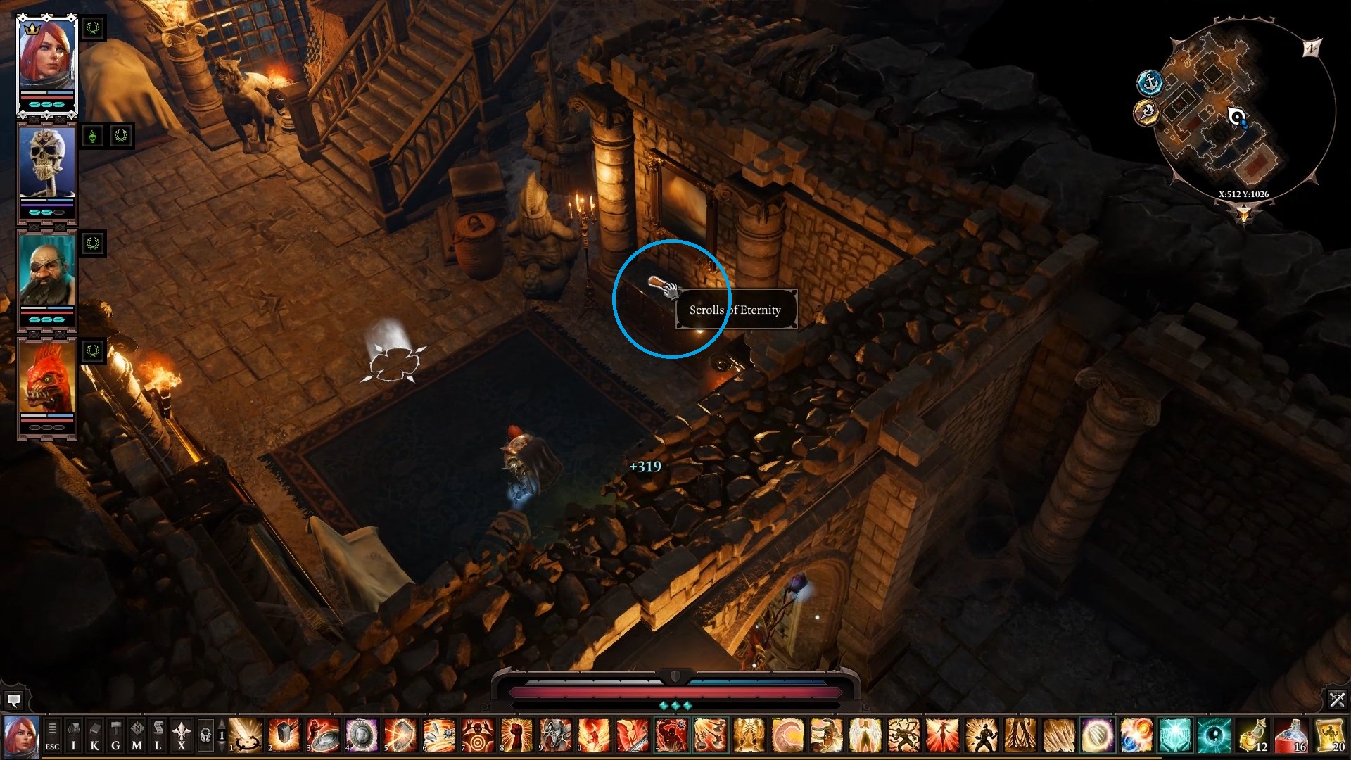The location of the second item. - Arx Puzzles | Puzzles and secrets - Puzzles and secrets - Divinity: Original Sin II Game Guide