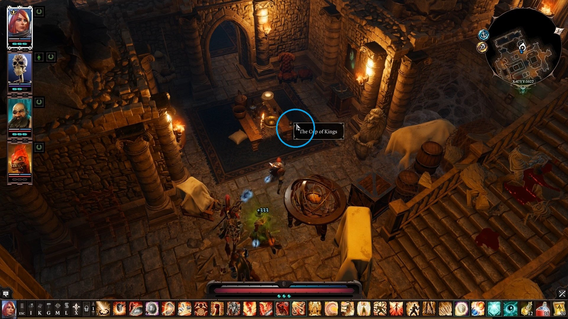 The location of the third item. - Arx Puzzles | Puzzles and secrets - Puzzles and secrets - Divinity: Original Sin II Game Guide