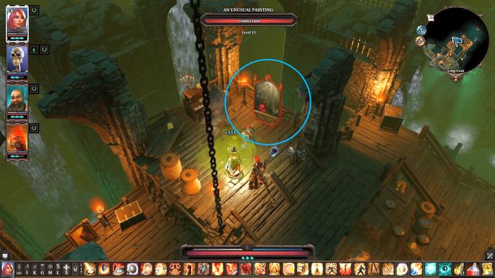 The painting located in the Thieves Guild. - Arx Puzzles | Puzzles and secrets - Puzzles and secrets - Divinity: Original Sin II Game Guide