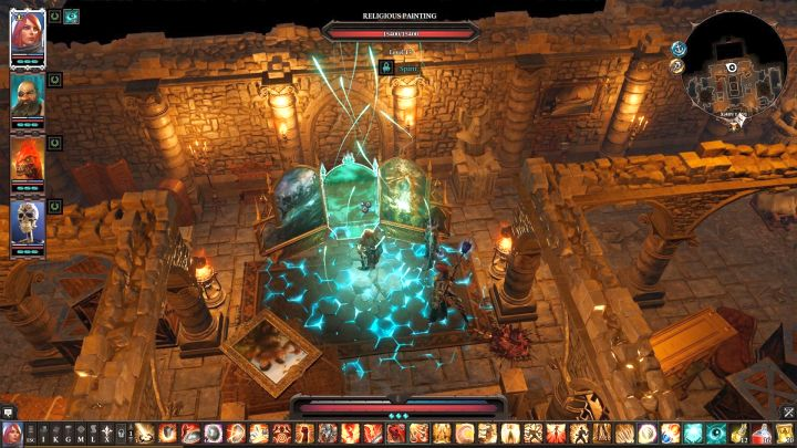 Use Source Vision to reveal a secret painting. - Arx Puzzles | Puzzles and secrets - Puzzles and secrets - Divinity: Original Sin II Game Guide