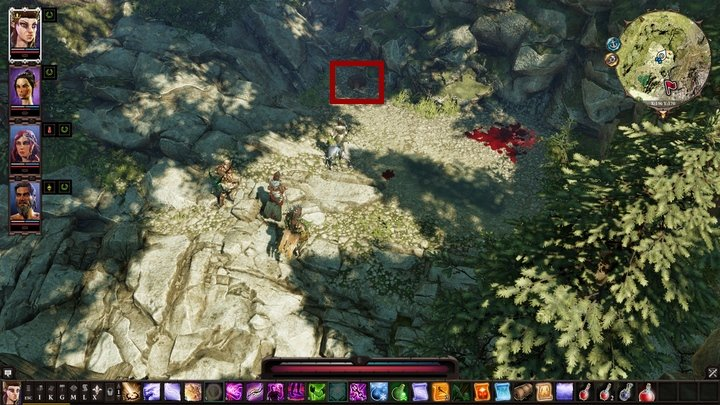 During your first interaction with it, excluding destroying the chest, ends with you being attacked - Red Ink In The Ledger | Act 3 - Chapter IV - Reapers Coast - Divinity: Original Sin II Game Guide