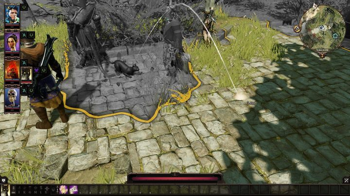 Thanks to Black Cat Feline Leap Skill you can act like a... cat. - How to save the Black Cat in Fort Joy? | FAQ - FAQ - Divinity: Original Sin II Game Guide