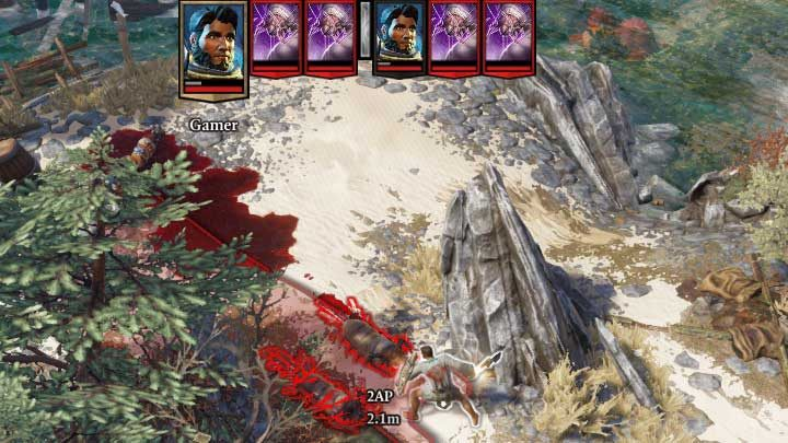 The upper part of the screen always contains the current and the following turn. - Combat in Divinity Original Sin 2 - Basics - Divinity Original Sin 2 Guide