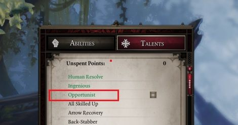 Your hero needs to have the Opportunist skill if he is to perform Attacks of Opportunity. - Combat in Divinity Original Sin 2 - Basics - Divinity Original Sin 2 Guide