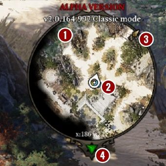 Mini-map is a very useful tool that allows for efficient navigation and locating potential dangers before we can see them on the screen - Game Interface in Divinity Original Sin 2 - Basics - Divinity Original Sin 2 Guide