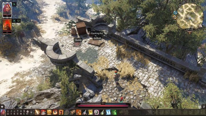 A shovel and a bedroll can be found right in the beginning of the game. - Starting tips | Tips & Tricks - Tips & Tricks - Divinity: Original Sin II Game Guide