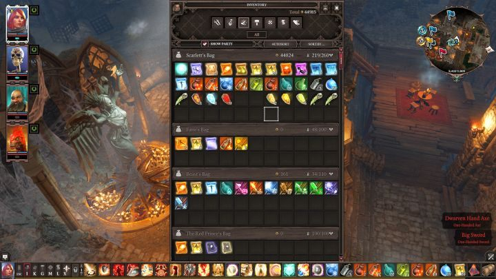 Saving too much consumables leads to overcrowding your equipment. - Things NOT to do in Divinity: Original Sin 2 | Tips & Tricks - Tips & Tricks - Divinity: Original Sin II Game Guide