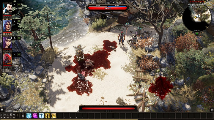 Migo is a demanding opponent who, apart from dealing high damage in melee can also use AoE abilities - The Murderous Gheist | Act I - Chapter II - Fort Joy - Divinity: Original Sin II Game Guide