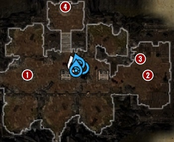Once you get to Holding Cells [1] your task will be to reach the upper level of the Fort (Fort Joy Prison) - Escape from Fort Joy Ghetto | Act 1 - Chapter II - Fort Joy - Divinity: Original Sin II Game Guide