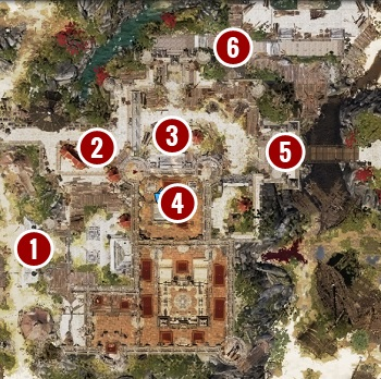 By defeating the guards at the main gate [1], you will gain access to other alternative paths - Escape from Fort Joy Ghetto | Act 1 - Chapter II - Fort Joy - Divinity: Original Sin II Game Guide