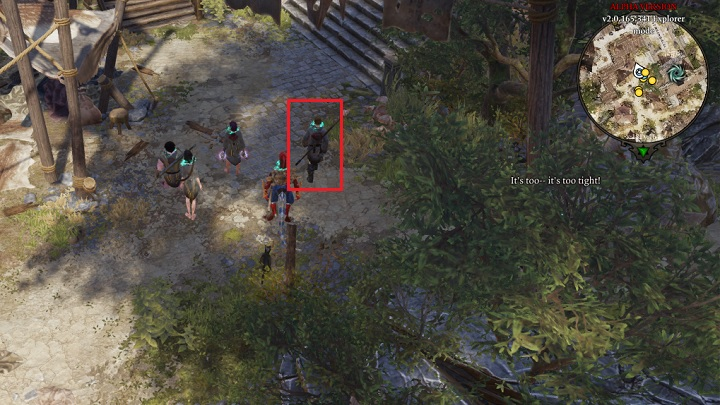 When exploring Fort Joy Ghetto you will encounter a mysterious person, who will ask you whether you are alone - The Teleporter | Act I - Chapter II - Fort Joy - Divinity: Original Sin II Game Guide