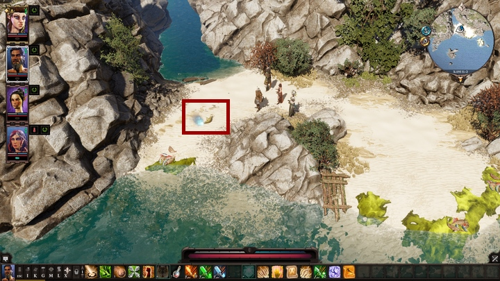 If you interact with it, a Djinn will appear - Remaining quests | Reapers Coast - Chapter IV - Reapers Coast - Divinity: Original Sin II Game Guide