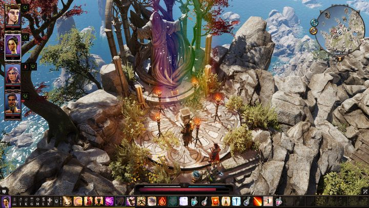 When you lit the torches, you will be able to learn a story of the prophet that is trapped there - Remaining quests | Reapers Coast - Chapter IV - Reapers Coast - Divinity: Original Sin II Game Guide