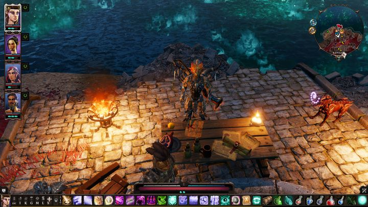 He asks you to retrieve Ancestor Tree - Remaining quests | Reapers Coast - Chapter IV - Reapers Coast - Divinity: Original Sin II Game Guide