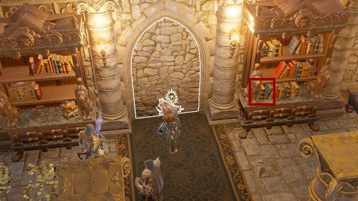 Before you move forward, you should take Responsibility painting from a wall - The Vault Of Linder Kemm quest | Arx - Chapter VI - Arx - Divinity: Original Sin II Game Guide