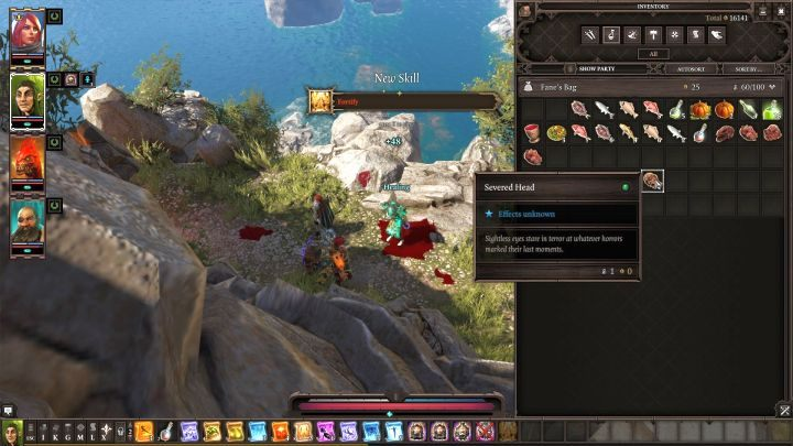 Corpse Eater is an interesting talent that allows you to learn additional skills. - What is the point of the Corpse Eater talent? | FAQ - FAQ - Divinity: Original Sin II Game Guide