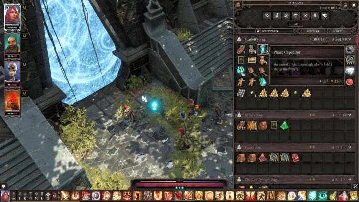 Once you set the symbols correctly, simply place the Phase Capacitor on the button and open the entrance to the Academy. - Nameless Isle puzzle | Puzzles and secrets - Puzzles and secrets - Divinity: Original Sin II Game Guide