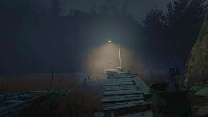 The only available path leads to the right, through the open gate - The Fields | Genesis | Walkthrough - Genesis - Outlast 2 Game Guide