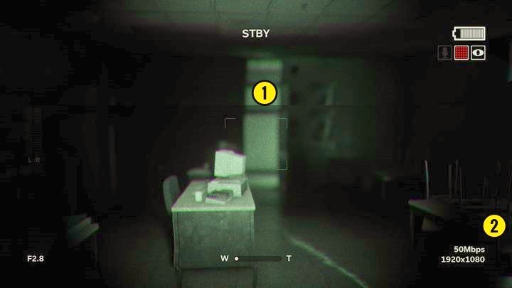 You can exit the small room through another door [1] - Jessicas Death | Genesis | Walkthrough - Genesis - Outlast 2 Game Guide