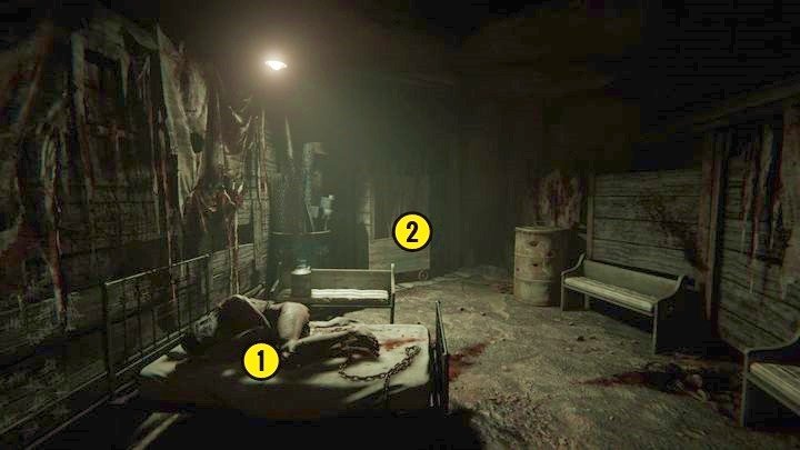 Next, run straight through the corridor until you reach the place shown in the picture - The Chapel | Genesis | Walkthrough - Genesis - Outlast 2 Game Guide
