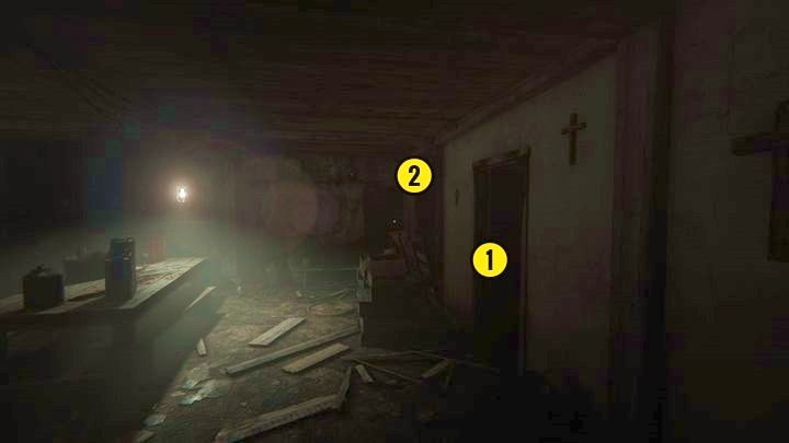 After exiting the room, you will see the above location - The Chapel | Genesis | Walkthrough - Genesis - Outlast 2 Game Guide