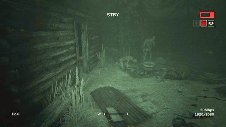 There is a cave right next to the house - The Scaled | Job | Walkthrough - Job - Outlast 2 Game Guide