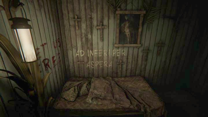 As the stage begins, it turns out that youre inside a wardrobe - The Last Supper | Job | Walkthrough - Job - Outlast 2 Game Guide