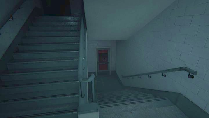 Eventually, you will enter a staircase - The School Roof | Job | Walkthrough - Job - Outlast 2 Game Guide