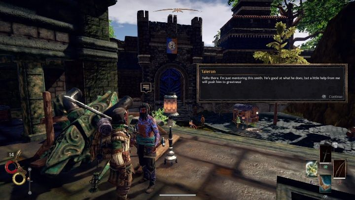 You will get this mission from a blacksmith - Berg Side quests - Outward Walkthrough - Side quests - Outward Guide