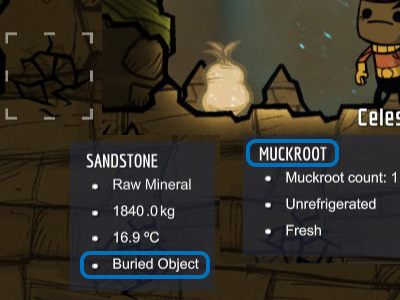 Buried objects will make the initial stages of the game easier - you can find food in them. - Which resources/materials are necessary? - The Beginning - Oxygen Not Included Game Guide
