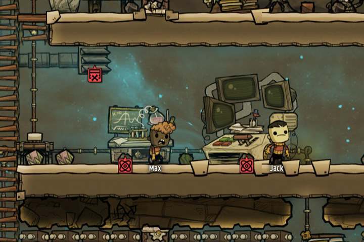 Your colony will grow very quickly if you acquire new technologies - Stations - Description of objects and structures - Oxygen Not Included Game Guide