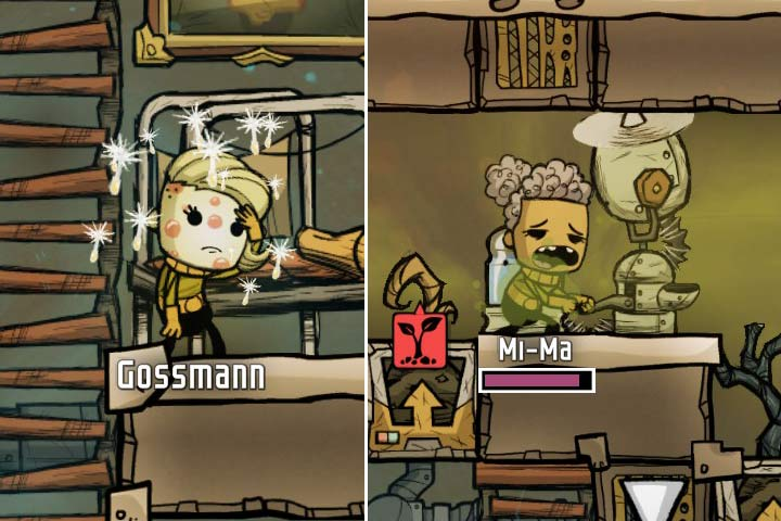 Diseases and temperature - Oxygen Not Included Game Guide