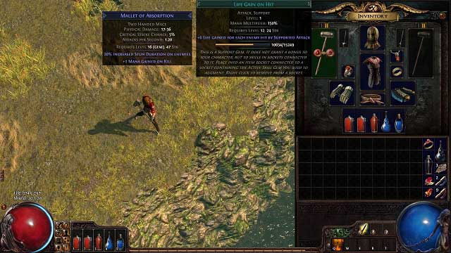 path of exile character slots