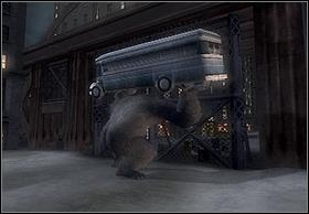 After rifles destruction, throw the bus away and go under the bridge - In The Streets Of New York - Walkthrough - Peter Jacksons King Kong - Game Guide and Walkthrough