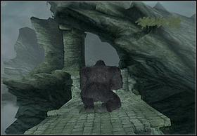 Approach and destroy the gate, but remember to throw away column lying on it first - Kong - Walkthrough - Peter Jacksons King Kong - Game Guide and Walkthrough