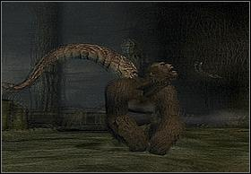 Enemies are attacking during the jump (vertical posture signalizes it, just like cobra) - Fight In The Lair - Walkthrough - Peter Jacksons King Kong - Game Guide and Walkthrough
