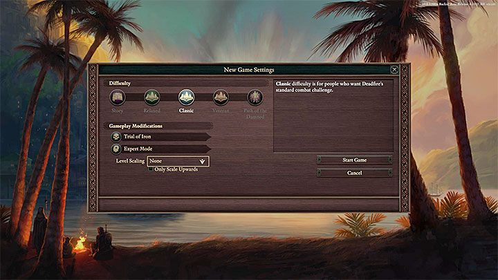 The Classic difficulty level is the best choice for your first playthrough - Starting tips for Pillars of Eternity 2 - Basics - Pillars Of Eternity 2 Deadfire Game Guide