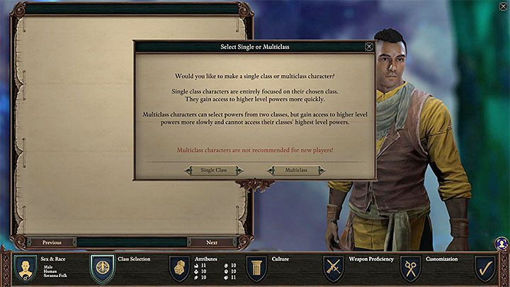 The character creation process is incredibly important in Pillars of Eternity 2 Deadfire - Starting tips for Pillars of Eternity 2 - Basics - Pillars Of Eternity 2 Deadfire Game Guide