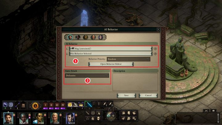 Your party's AI - Pillars Of Eternity 2 Deadfire Game Guide