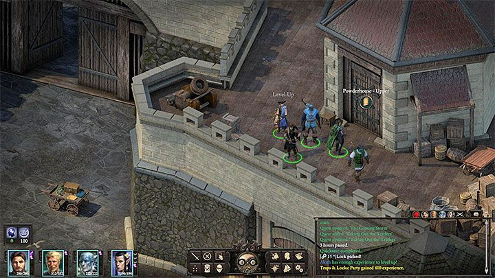 Move to the Brass Citadel district and head towards the gunpowder magazine (M13,5) - Variant 5 - Cooperation with Huana faction | Solution - The Coming Storm - journey to the final location - Pillars Of Eternity 2 Deadfire Game Guide