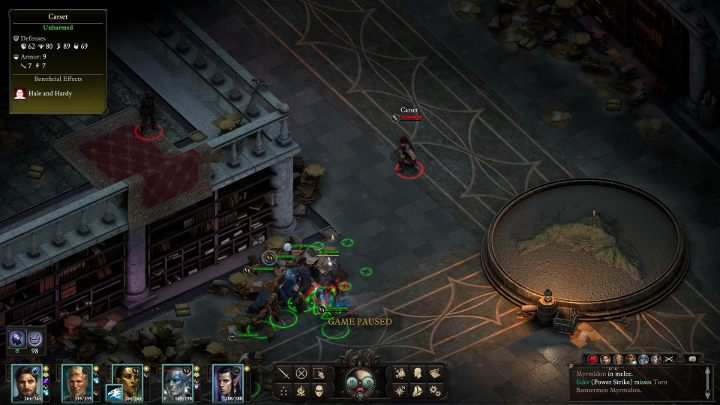 Once inside Bekarnas Observatory (M42), head straight ahead - you will quickly stumble upon a group of mercenaries - Bekarnas Folly - side quest - Side quests - Pillars Of Eternity 2 Deadfire Game Guide