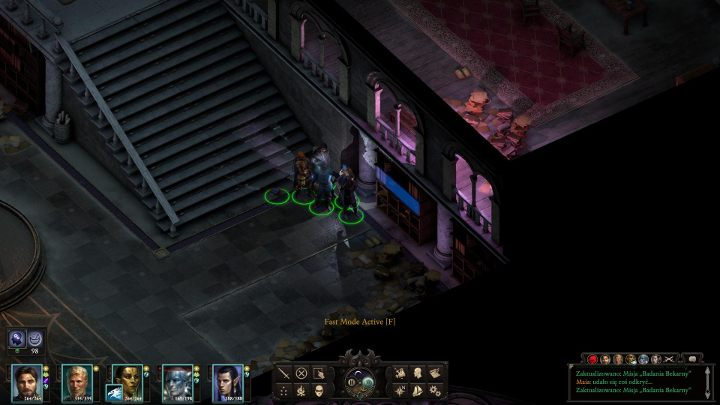Right next to the place where you have met the mercenaries you can find stairs and a bookcase - The Huntress note can be found inside the bookcase - Bekarnas Folly - side quest - Side quests - Pillars Of Eternity 2 Deadfire Game Guide