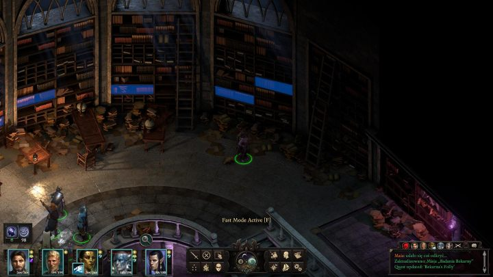 Use the stairs and head straight ahead, until you reach a large archive - Bekarnas Folly - side quest - Side quests - Pillars Of Eternity 2 Deadfire Game Guide