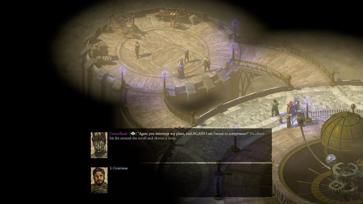 The Planetary is a small location - follow the only possible route until you reach an enemy from the first installment of the franchise, Concelhaut - Bekarnas Folly - side quest - Side quests - Pillars Of Eternity 2 Deadfire Game Guide