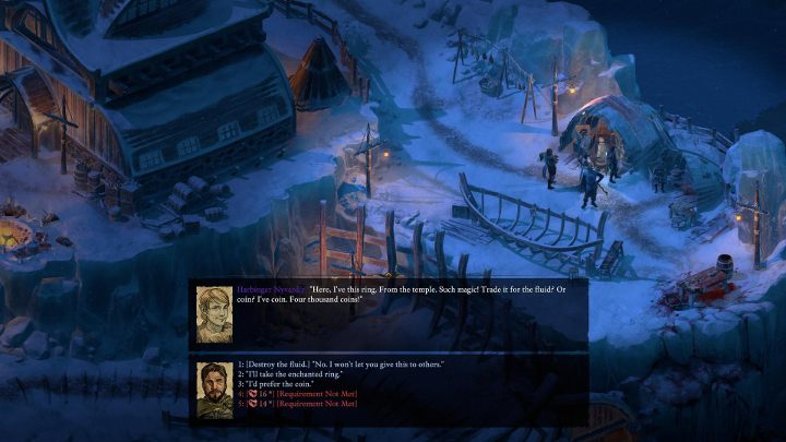 You can finish the quest in a few ways - the liquid is very toxic, so youve got to decide whether to give it to Nyvardir - Toasting the Dead | Side Quests in Pillars Of Eternity 2 Beast of Winter DLC - Side Quests - Pillars Of Eternity 2 Deadfire Game Guide